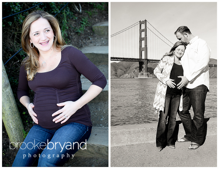 Brooke Bryand Photography | San Francisco Maternity Photographer | Golden Gate Bridge Maternity Photography