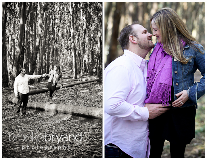 Brooke Bryand Photography | San Francisco Maternity Photographer | Presidio Lover's Lane Maternity Photography
