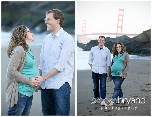 Brooke Bryand Photography | San Francisco Maternity Photographer | Baker Beach Maternity Photo